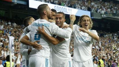 Le Real Madrid remporte la Supercopa face au Barça