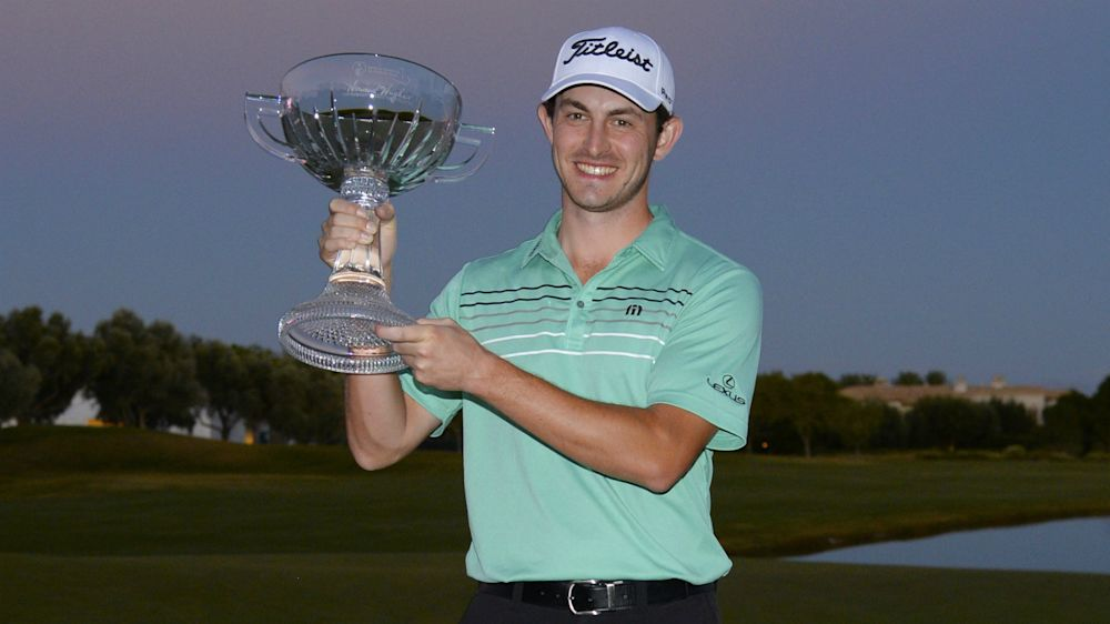 Cantlay wins three-man play-off to claim Shriners Open