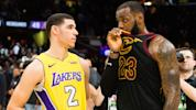 What did LeBron say to Lonzo after the game?