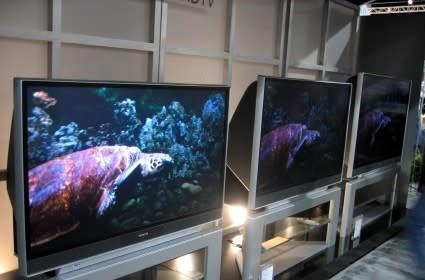 Hitachi @ CEDIA - Worst looking rear-projection at the show?