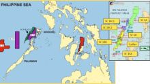 FEC Provides Map of Various Philippine Oil and Gas Properties
