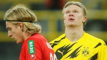 Dortmund star Haaland out of Lazio clash with leg injury