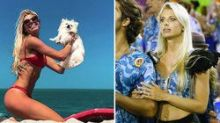 Family of missing Brazilian model dismiss claims she drowned 'trying to save puppies' in storm