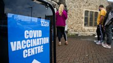 Government denies vaccine dose interval will be cut to four weeks amid falling jab rates