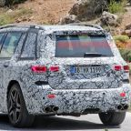 Mercedes-AMG GLB 45 spied in the sun