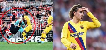 Overhead stunner consigns Barca to 10-year first