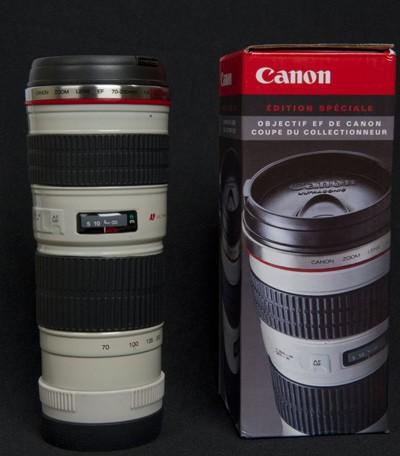 Canon captures your coffee in a 70-200mm telephoto lens