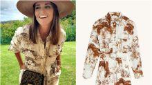Paula Echevarría y su look viral para ir de safari