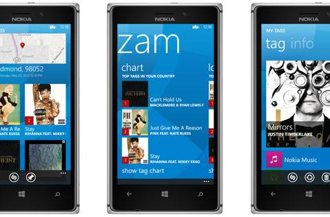 Shazam launches on Windows Phone 8 with links to Xbox Music and free unlimited tagging