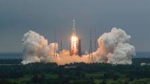 China weist Sorgen vor Trümmern seiner Rakete zurück