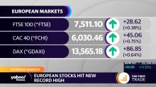 European stocks hit new record high