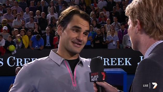 Post Match Interview: Roger Federer