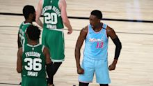 Heat close in on East's No. 3 seed with wire-to-wire Jimmy Butler-less win over Celtics