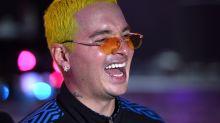 J Balvin se pinta el pelo de amarillo; ¡míralo!