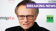 Larry King dies aged 87 after Covid diagnosis