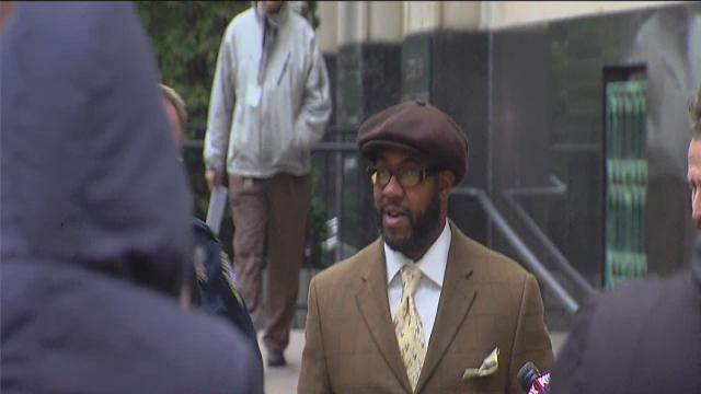 Bobby Ferguson leaves court after conviction