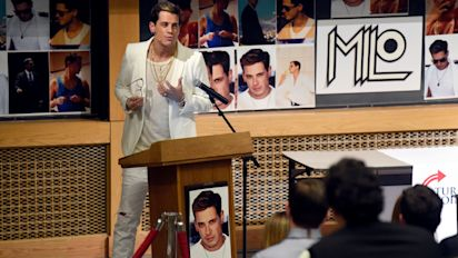 Milo Yiannopoulos autobiography cancelled by publisher after outrage over child abuse comments