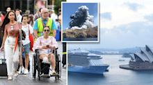 'It was terrible': Passengers hit out at cruise staff over response to volcano tragedy