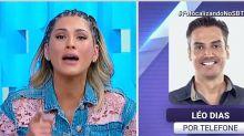 Revoltada com críticas, Lívia Andrade chora e solta o verbo na TV
