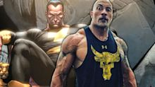 Dwayne Johnson confirms Black Adam starts filming in 2020