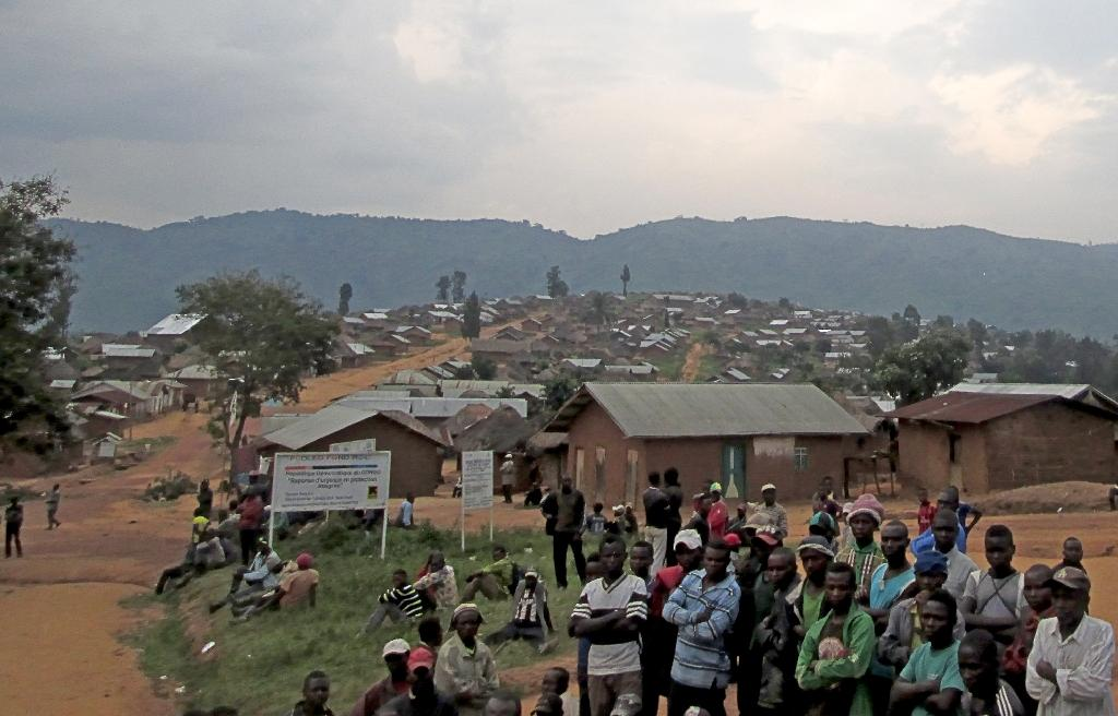 Miriki, 110 kilometres (65 miles) north of Goma, eastern Democratic Republic of Congo, where 15 people died overnight when Hutu rebels from Rwanda attacked civilians in the latest ethnic killings in the region on January 7, 2016