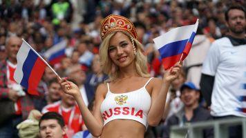 La tifosa russa più cercata sul web è un'attrice a luci rosse