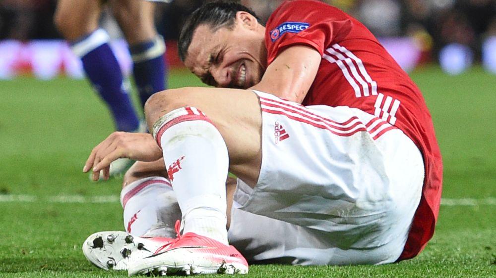 Manchester United, fin de saison pour Ibrahimovic