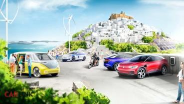 等不到純電低碳島嗎?VW:那就自己打造一個吧!