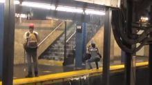 NYC Subway Station Floods as Tropical Storm Fay Drenches Northeast