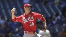 Mahle fans 12, Reds silence Brewers' bats again in 2-1 win