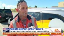 Christchurch hero tradies share their story