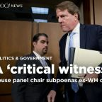 House panel chair subpoenas ex-White House counsel McGahn on Mueller inquiry