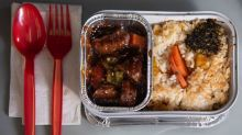 Airlines are selling in-flight meals for people who aren't flying but really miss eating on a plane