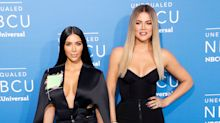 Kim Kardashian shares the first photo of Chicago and True together on Khloé's 34th birthday