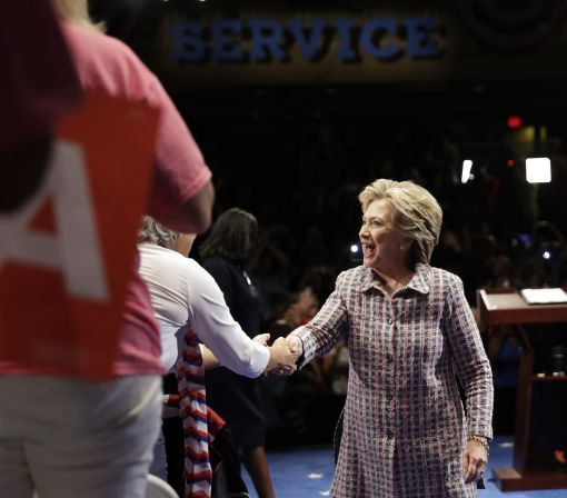 Clinton in a landslide _ in endorsements: Do they matter?