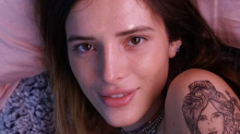 Bella Thorne posts topless photos with emotional poem: 'I blame me for not loving myself'