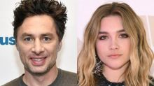 Zach Braff Shares Sweet Birthday Message to Girlfriend Florence Pugh After Romance Backlash