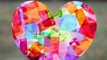 San Valentín: ¡los niños hacen el obsequio!