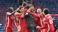 Goalkeeper Alisson earns Liverpool vital stoppage-time win over West Brom