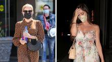 Los looks más fashion de las celebridades usando mascarillas