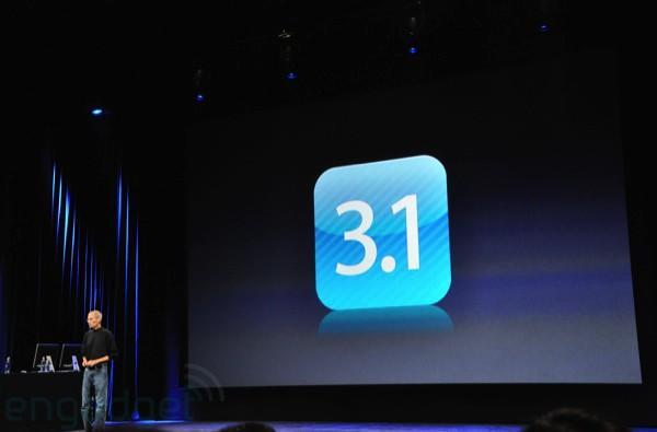 iPhone OS 3.1 is official, available today