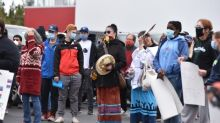 Hundreds gather for Yellowknife demonstration in solidarity with Black Lives Matter