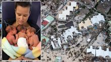 Six-month-old triplets among youngest survivors of Hurricane Irma as it hits British Virgin Islands