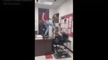 Teen is criminally charged and faces expulsion for terrorizing her teacher as shown in viral video