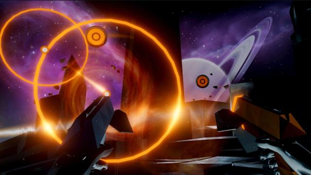 Harmonix's rhythmic shooter 'Audica' is coming to PSVR this fall