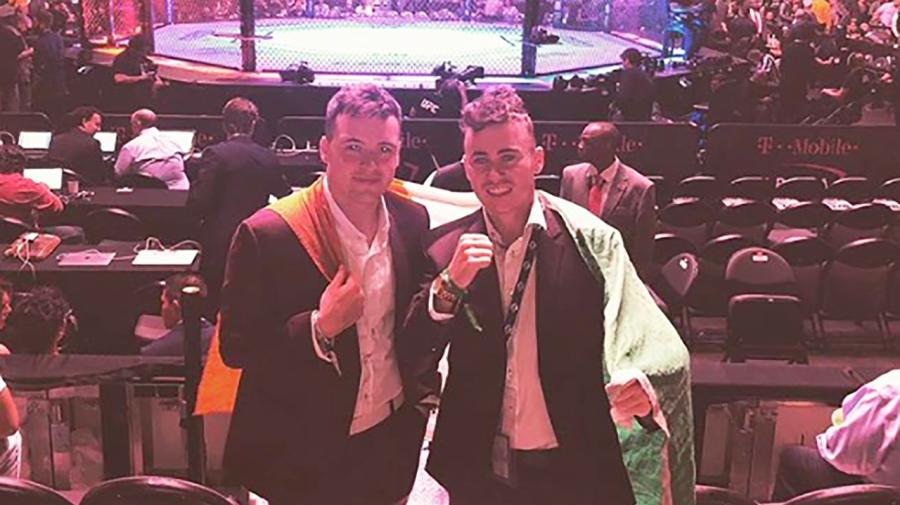 Irish kids fake way into $10,000 seats for McGregor-Khabib fight