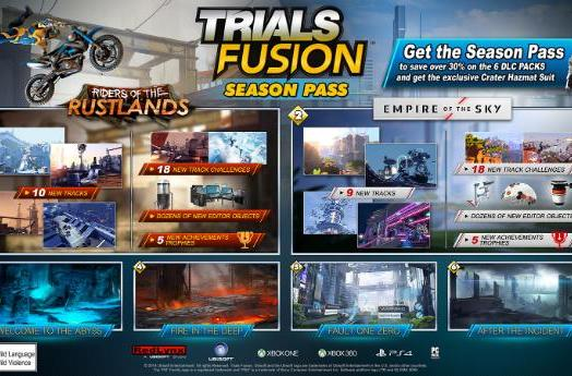 Trials Fusion first DLC pack rides into the Rustlands on July 29