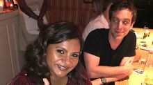 Mindy Kaling Gets The Look Of Love From Ex B.J. Novak That We All Want