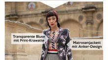 Look des Tages: DJane Mademoiselle Yulia an Bord der Paris Fashion Week