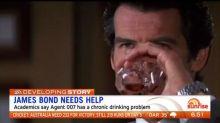 James Bond has a serious drinking problem, study says